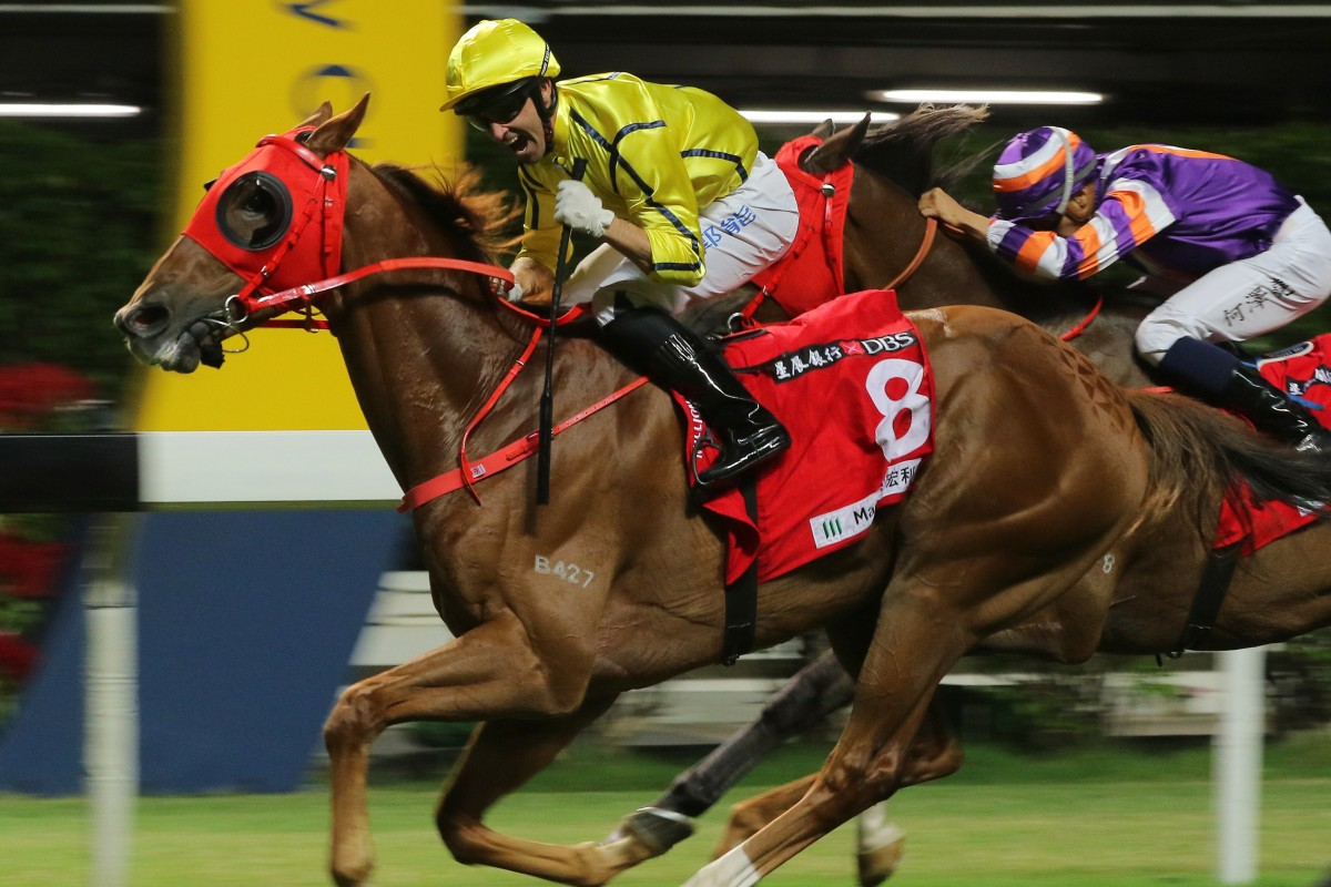 Neil Callan wins at Happy Valley this season. Photos: Kenneth Chan