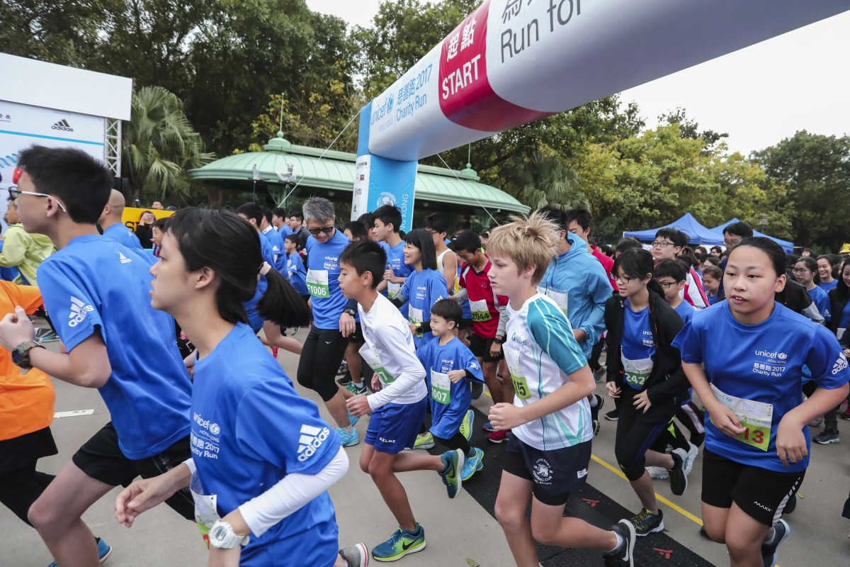 "The Unicef ""Run for Every Child"" Charity Run 2017 – this year's edition has been cancelled. Photo: Jonathan Wong"