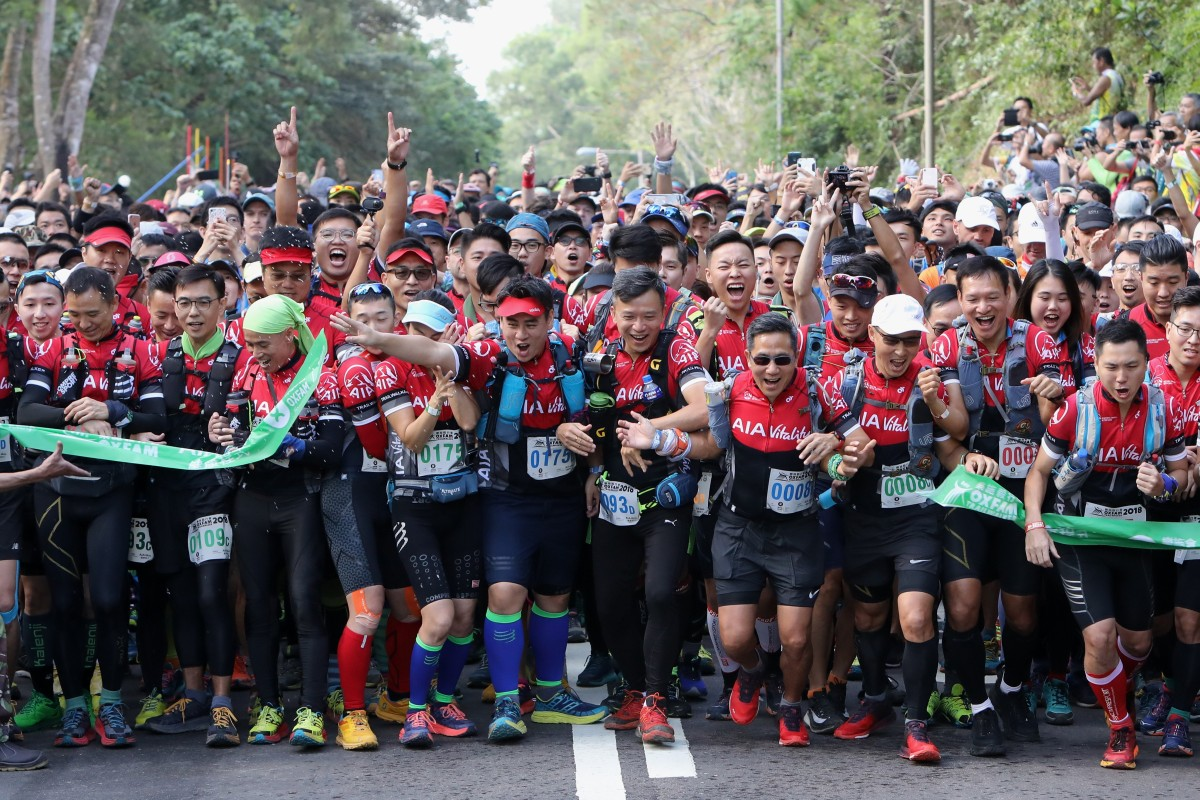 Thousands of people take part in the Oxfam Trailwalker, but Hui thinks there is no one way to train for 100km. Photo: Dickson Lee
