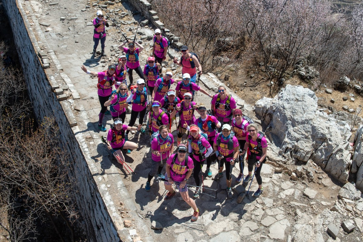 Wild Women on the Wall is a 90km trek across The Great Wall of China. Photos: Patrizia Cali