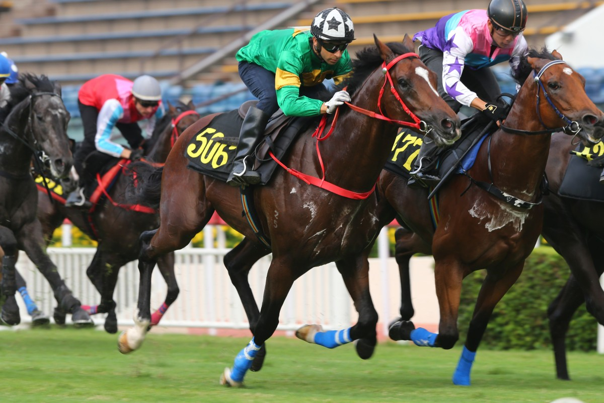 Extra Brut trials at Sha Tin last month. Photos: Kenneth Chan