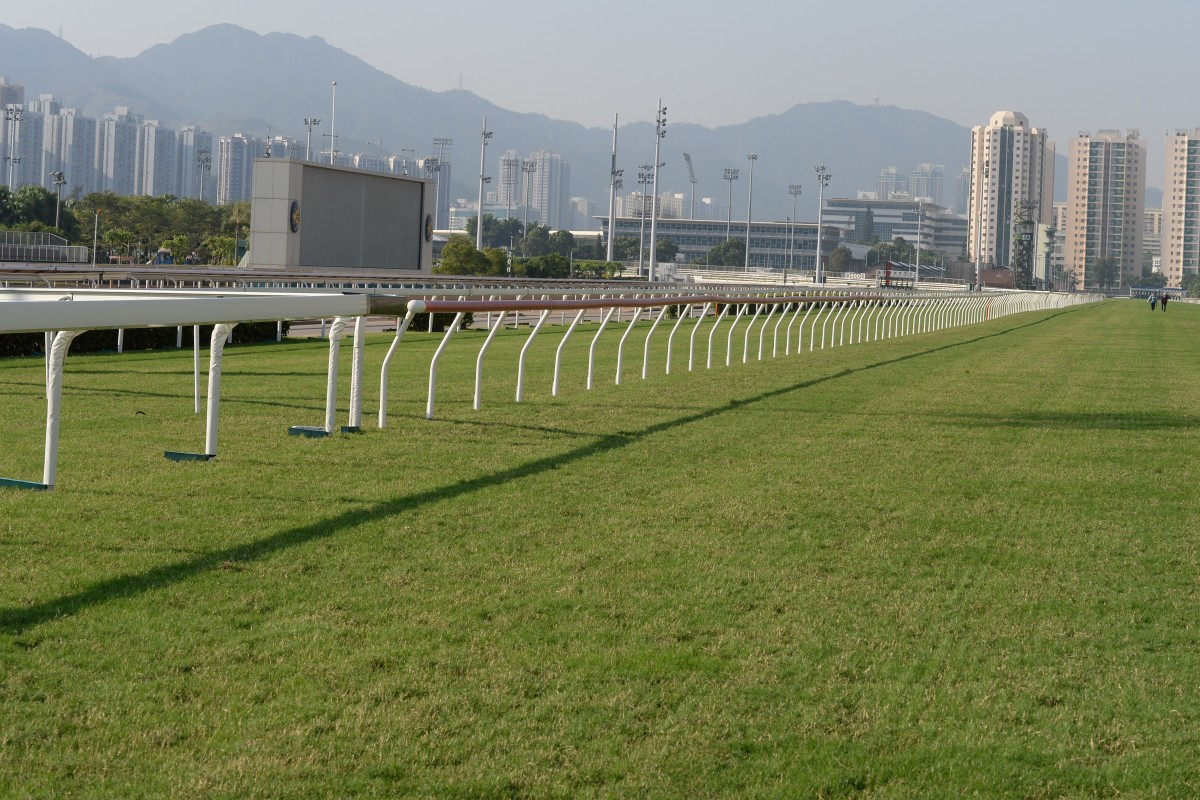 Life inside Sha Tin racecourse has continued as chaos reigns outside. Photo: Kenneth Chan