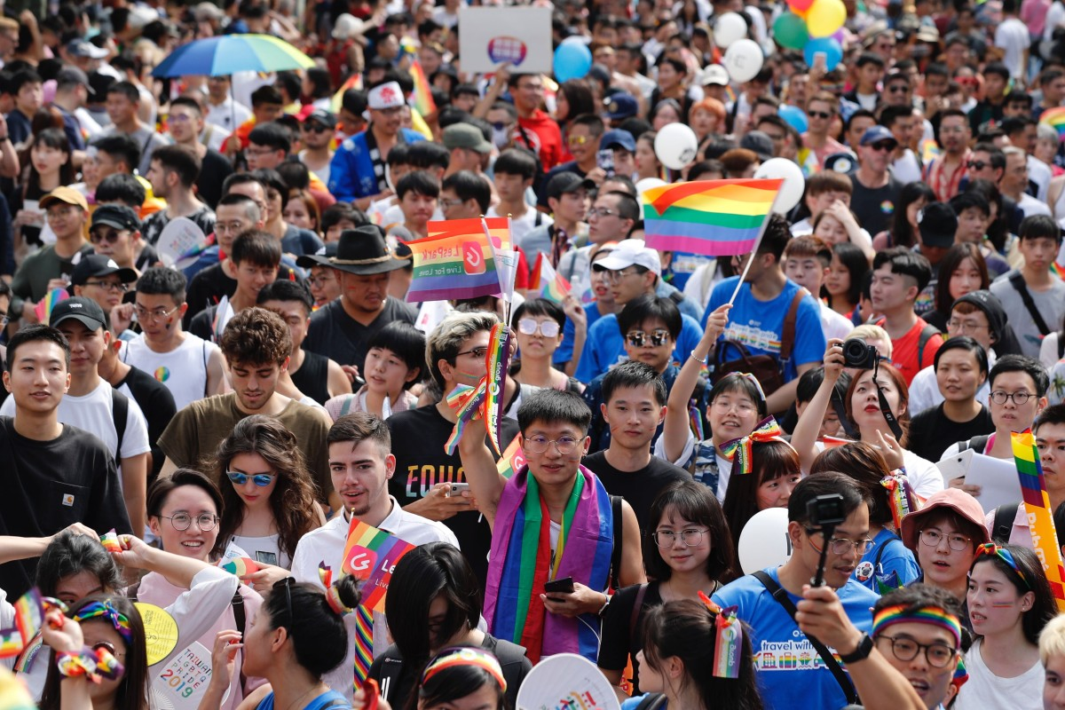 North America and Europe has made progress but it is still hard to be openly gay in Asia, says Pride Run organiser. Photo: EPA