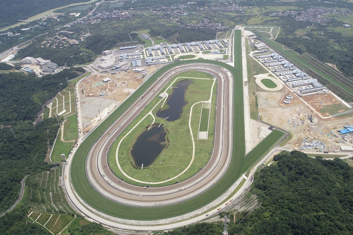 Conghua racetrack in mainland China. Photos: HKJC
