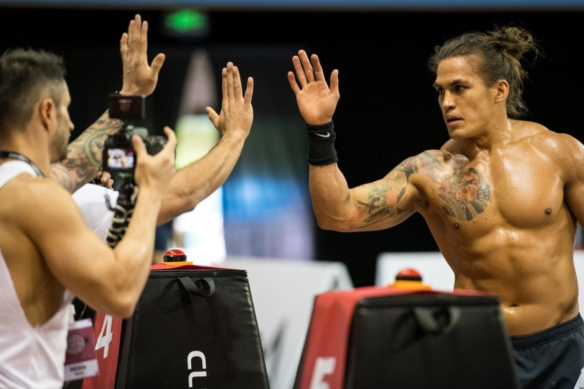 Ant Haynes at the Asia CrossFit Championship. Photo: Mick Soncharoen.