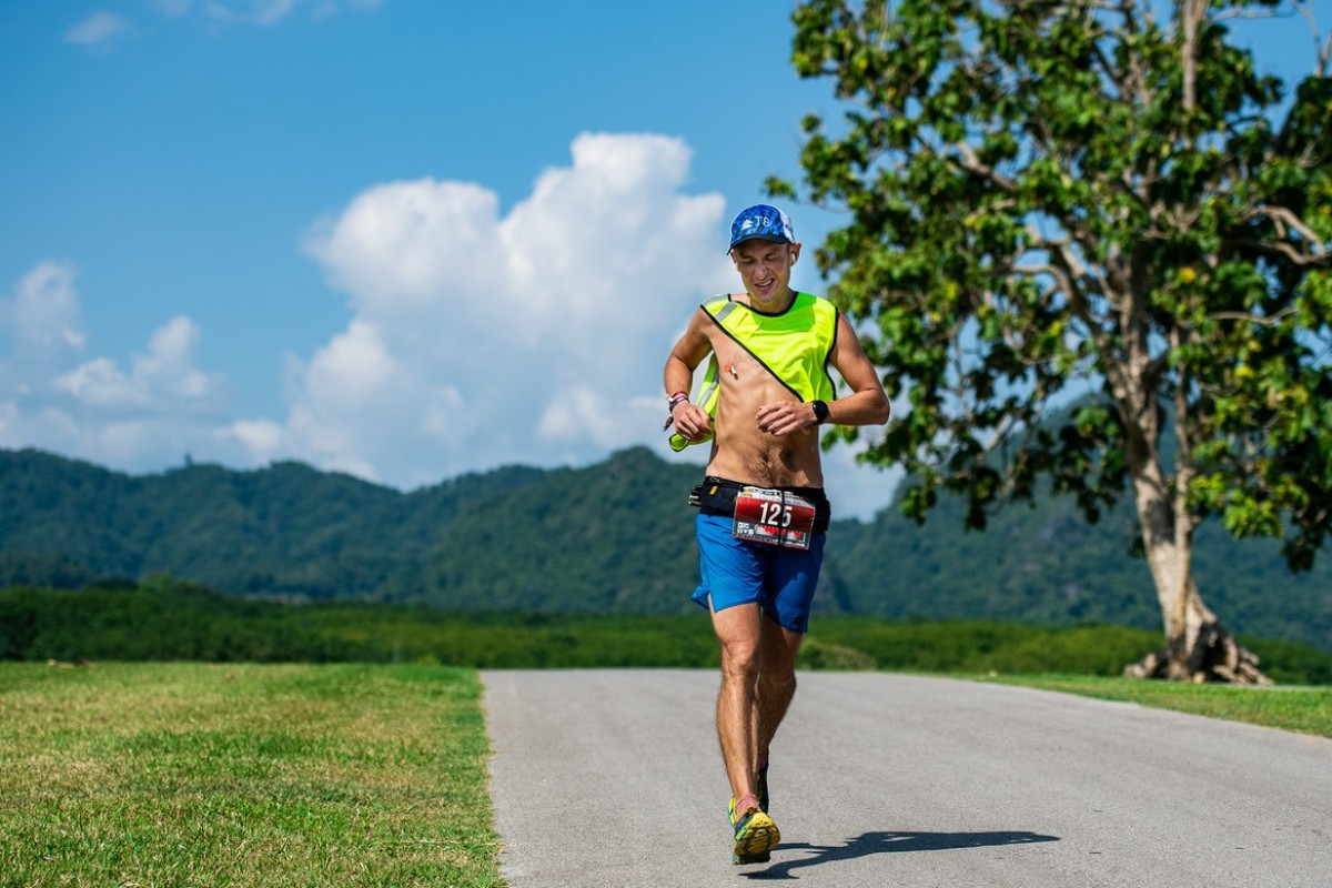 John Ellis on the Ultra Trail Chiang Rai. With a self-confessed lack of talent, Ellis is always forced to 'dig deep' to win. Photo: StudioZag/Asia Trail Master