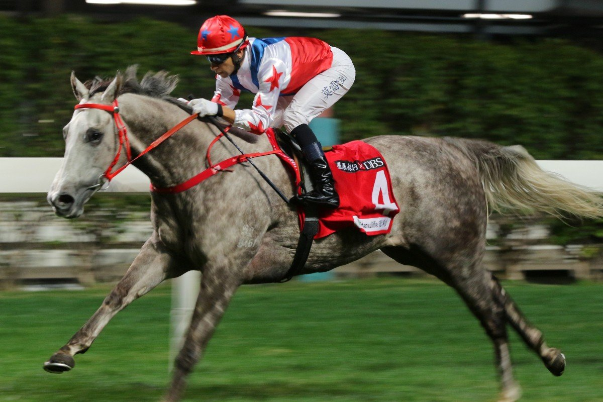 Big Party runs away to win easily at Happy Valley. Photos: Kenneth Chan