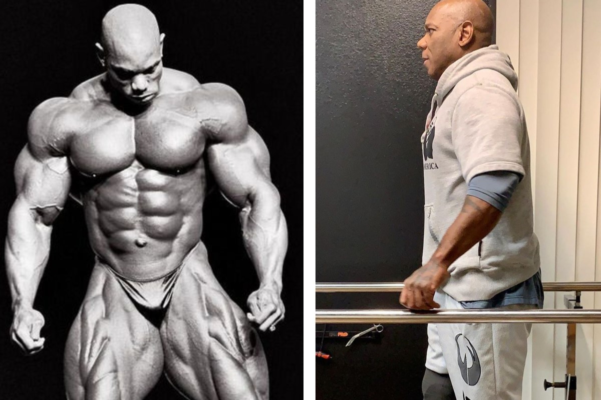 Flex Wheeler is in his heyday and with his new prosthetic leg. Photos: Instagram