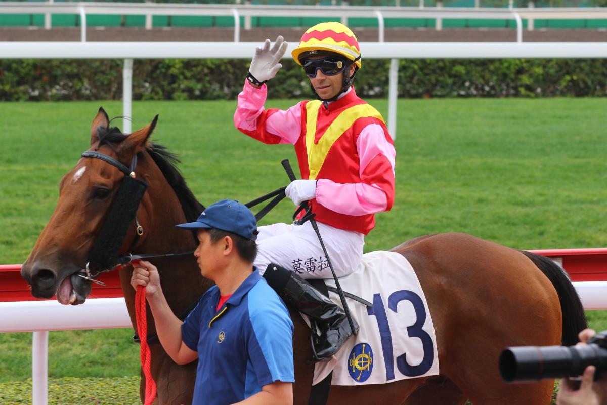 Joao Moreira celebrates a winner at Sha Tin earlier this month. Photos: Kenneth Chan