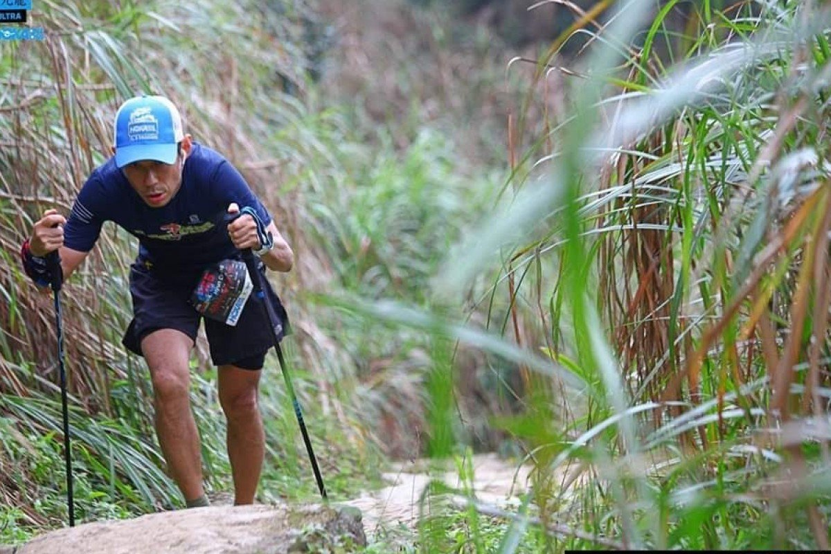 Hyun Chang Chung running the 9 Dragons. He is gearing up for the 2020 Hong Kong Four Trails Ultra Challenge (HK4TUC). Photo: Stanley Wong/9 Dragons Race