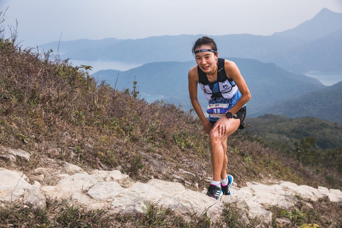 Lu Yangchun on her way to winning the HK100 2019. Who can take the crown this year? Photo: Adidas TERREX