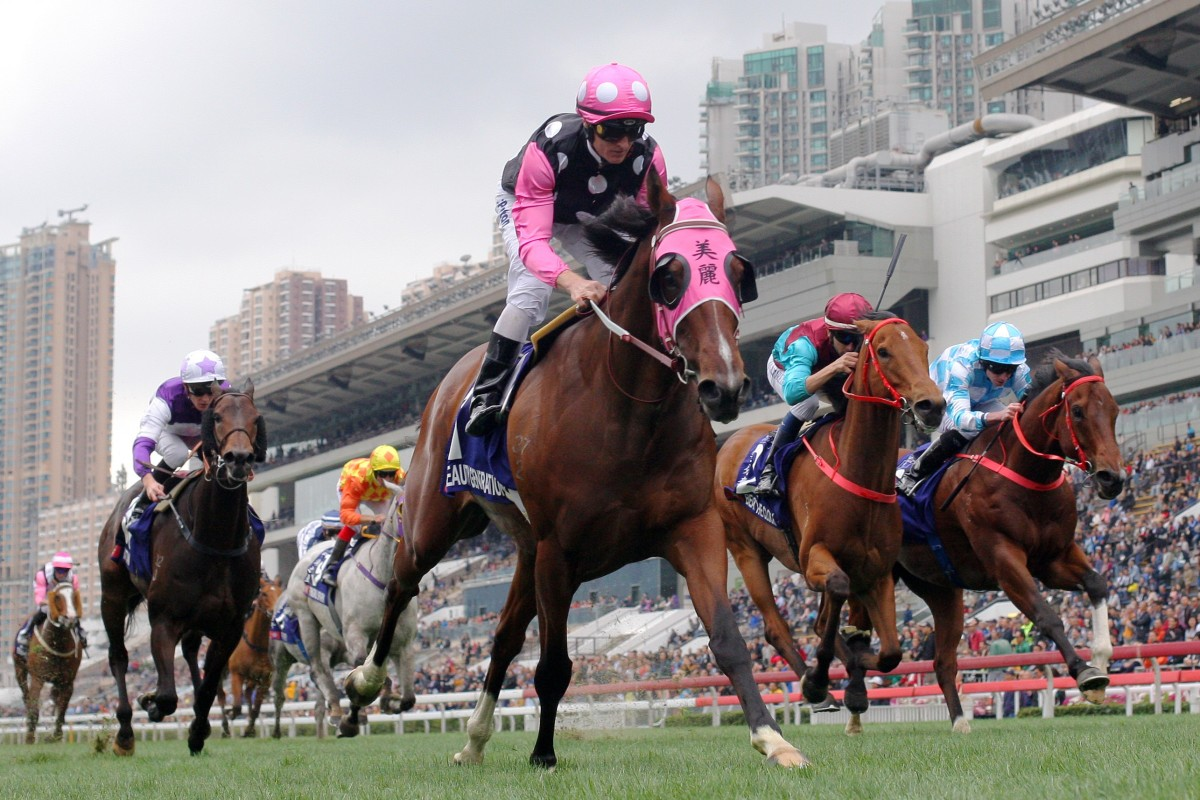 Beauty Generation takes out the 2019 Queen's Silver Jubilee Cup. Photos: Kenneth Chan