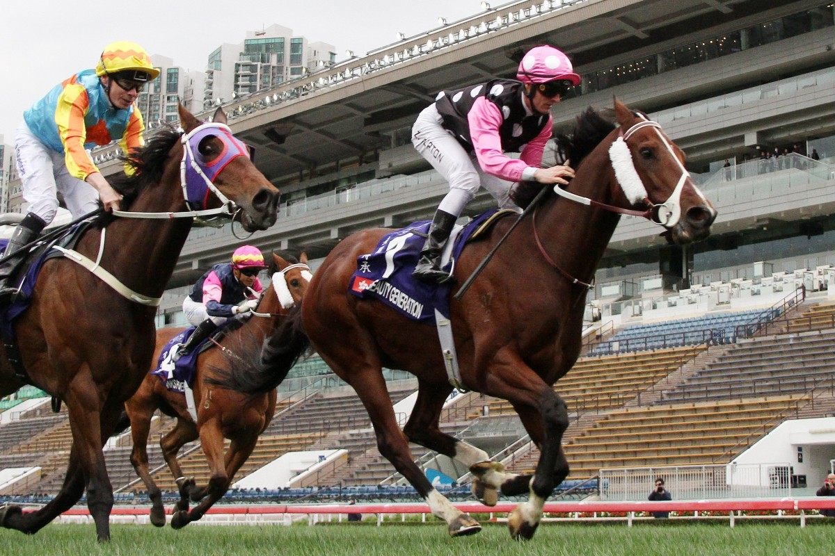 Beauty Generation takes out the Queen's Silver Jubilee Cup. Photos: Kenneth Chan