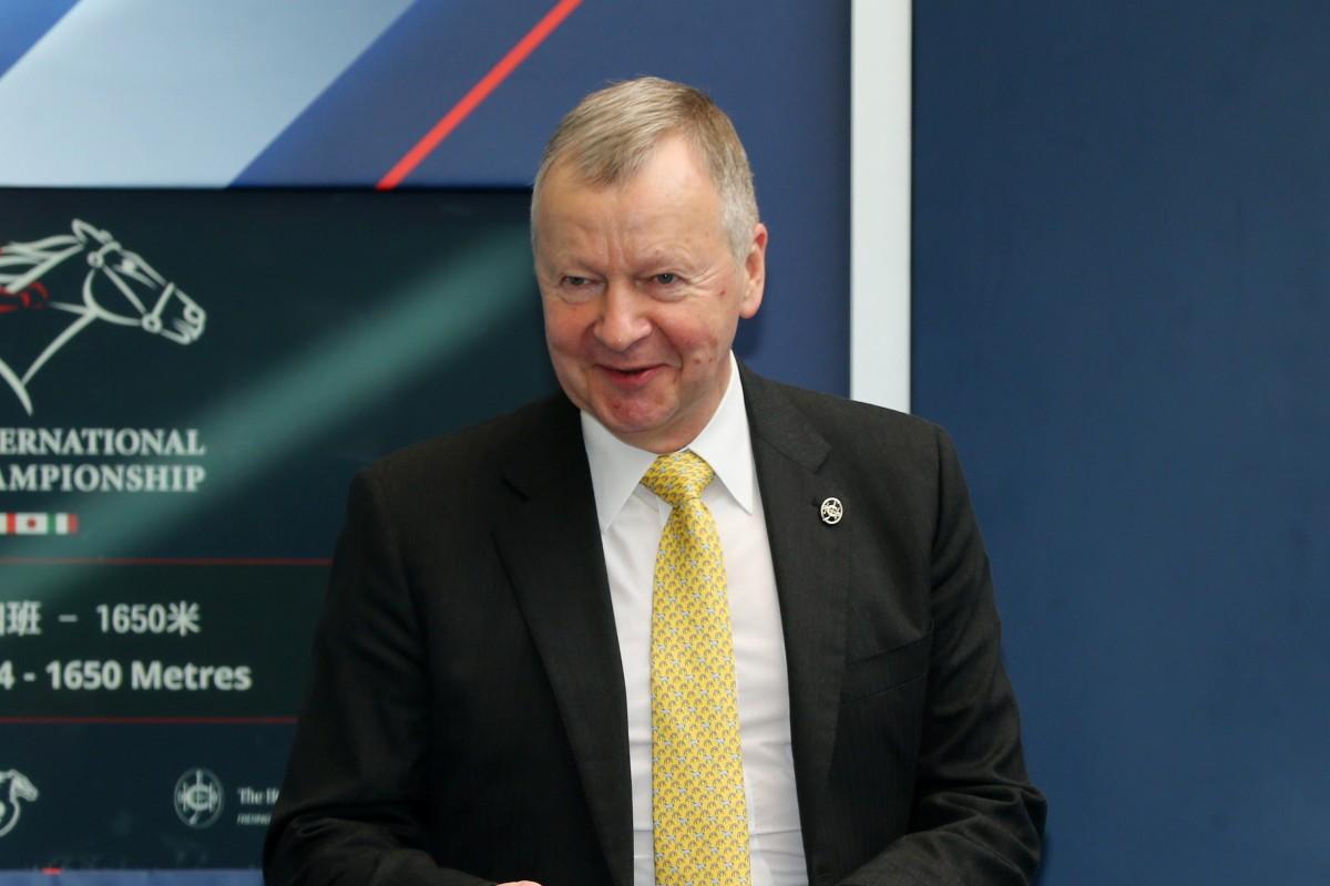 Jockey Club chief executive Winfried Engelbrecht-Bresges. Photo: Handout