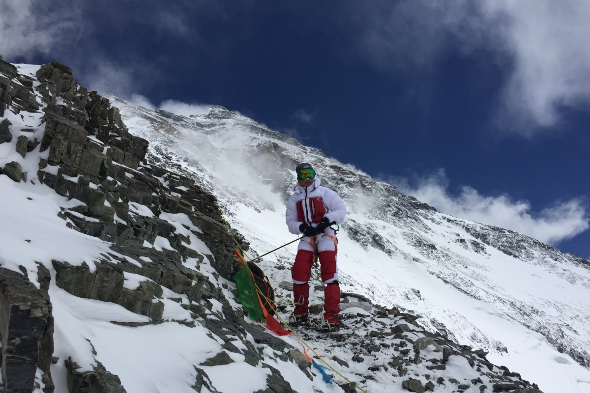 Carole Fuchs, mountaineer, is taking on four of the five highest mountains on earth in a single season. Photo: Handout
