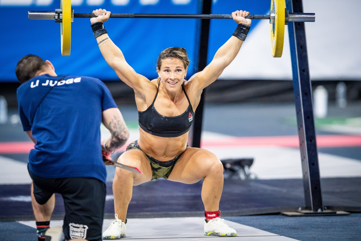 Weightlifting shoes help you lift more by reducing the flex in your joints. Photo: CrossFit
