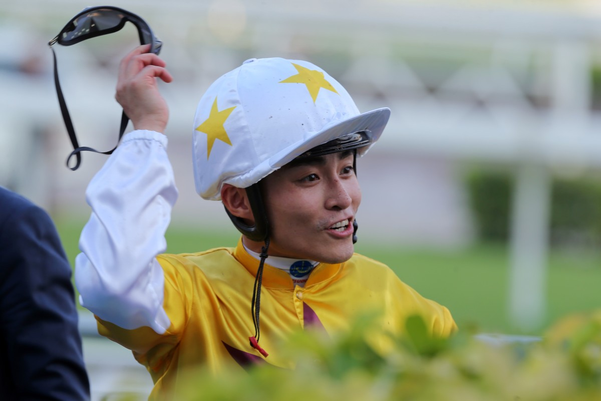 Jockey Keith Yeung. Photo: Kenneth Chan
