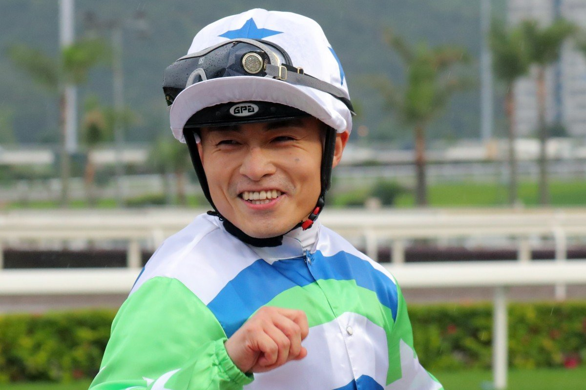 Keith Yeung is all smiles after winning on Voyage Star. Photos: Kenneth Chan