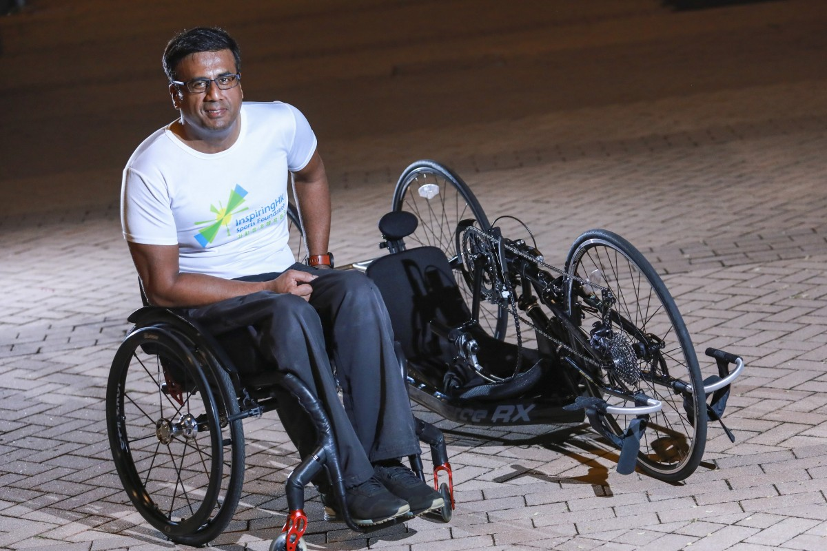 Ajmal Samuel is gearing up for his next adventure – cycling the length of Pakistan. Photo: May Tse