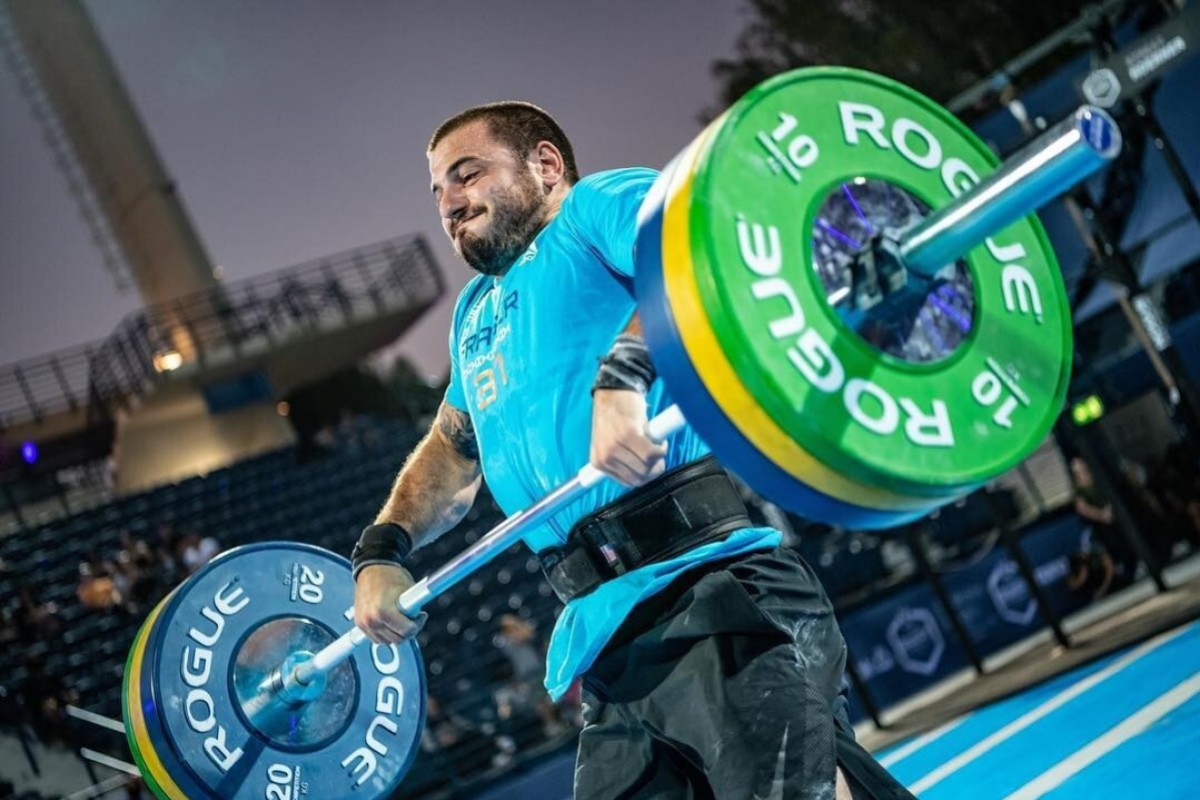 Mat Fraser makes more than a few appearances on this top CrossFit YouTube videos list. Photo: Dubai CrossFit Championship