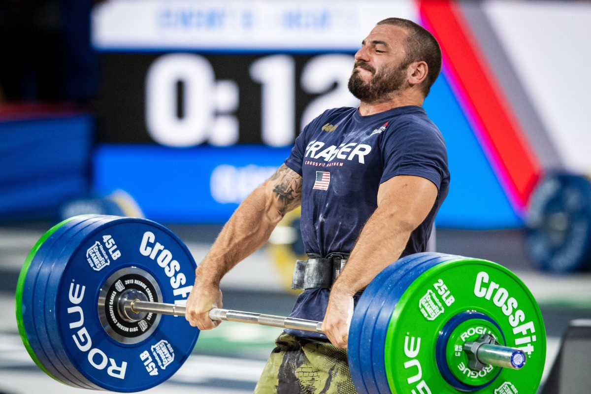 Mat Fraser, four times Fittest on Earth, will be defending his title against a reduced field. Photo: Michael Valentin
