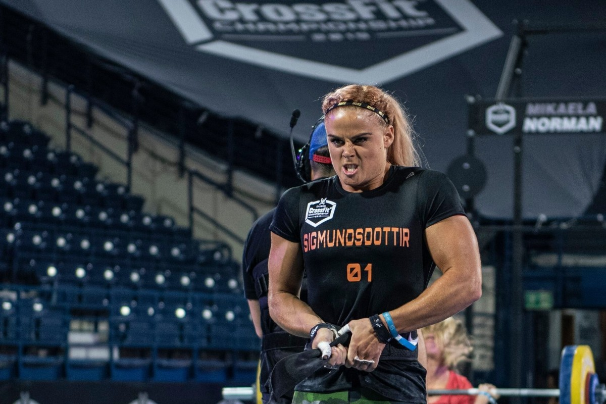 Icelandic CrossFit athlete Sara Sigmundsdottir has called out CrossFit founder Greg Glassman specifically. Photo: Dubai CrossFit Championship