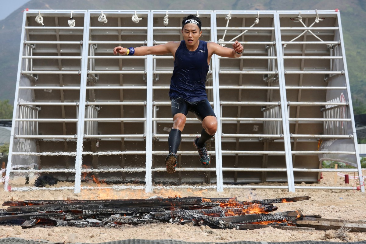 The 2018 Spartan Race in Hong Kong, held at the Kam Tin Country Club in Yuen Long. Photo: Jonathan Wong