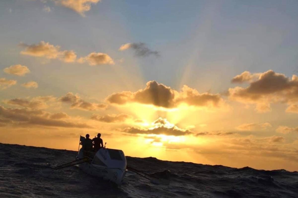 The Atlantic Challenge rowing race happens every December, from La Gomera to Antigua. Photo: Talisker Whisky Atlantic Challenge