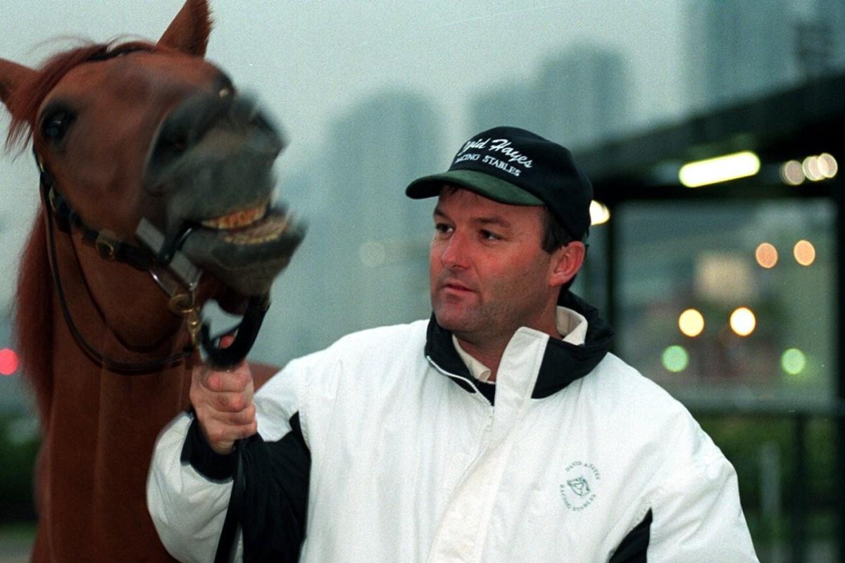 David Hayes at Sha Tin in 1997. Photos: Kenneth Chan