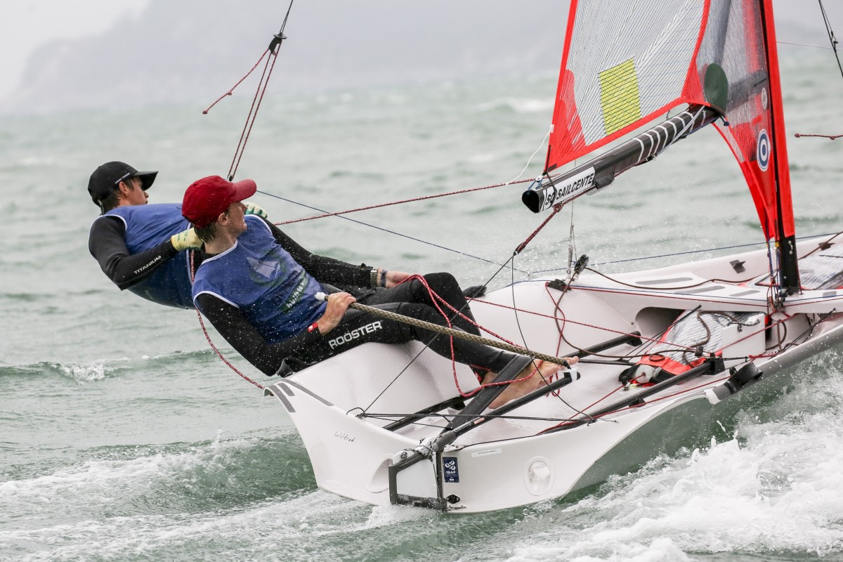 The Royal Hong Kong Yacht Club (RHKYC) Team Agiplast have been training full-time for the Youth America's Cup. Photo: Handout