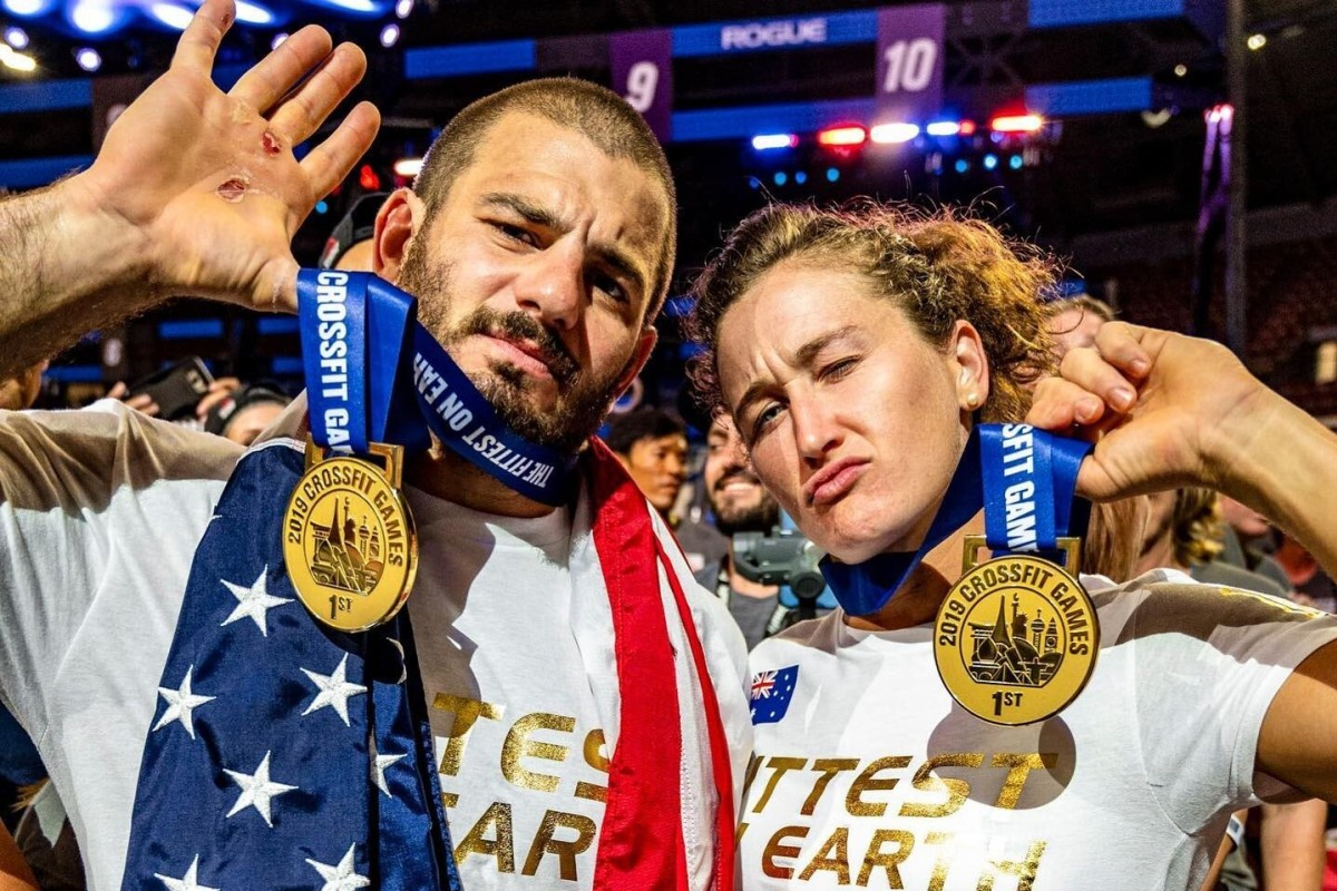 Betting against Mat Fraser and Tia-Clair Toomey this year at the 2020 CrossFit Games? Good luck with that. Photo: Facebook
