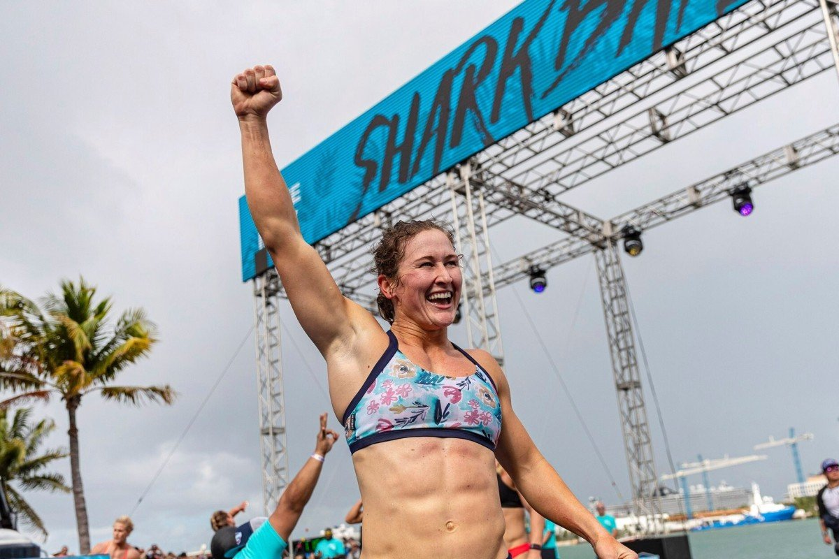 Tia-Clair Toomey is the first athlete to win the three opening workouts at the CrossFit Games. Photo: CrossFit
