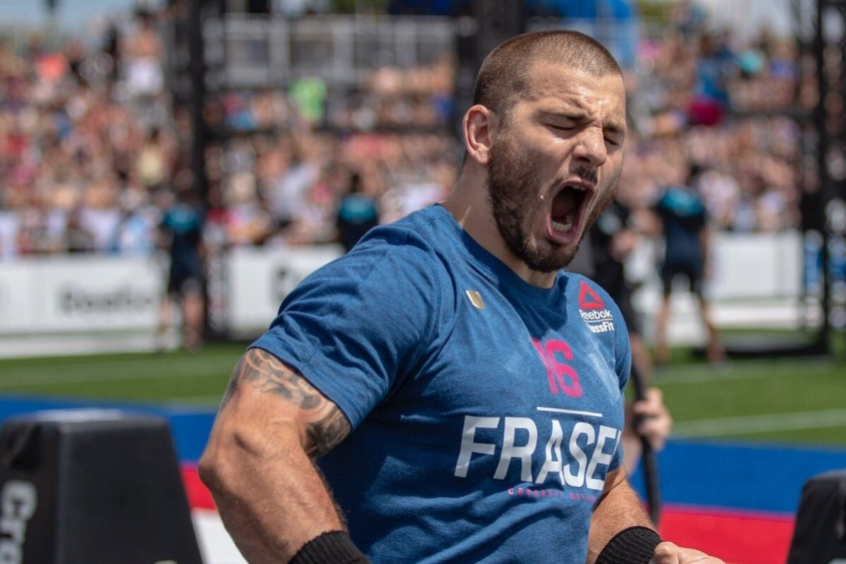 Mat Fraser will look to defend his title at the 2020 CrossFit Games. Photo: Handout