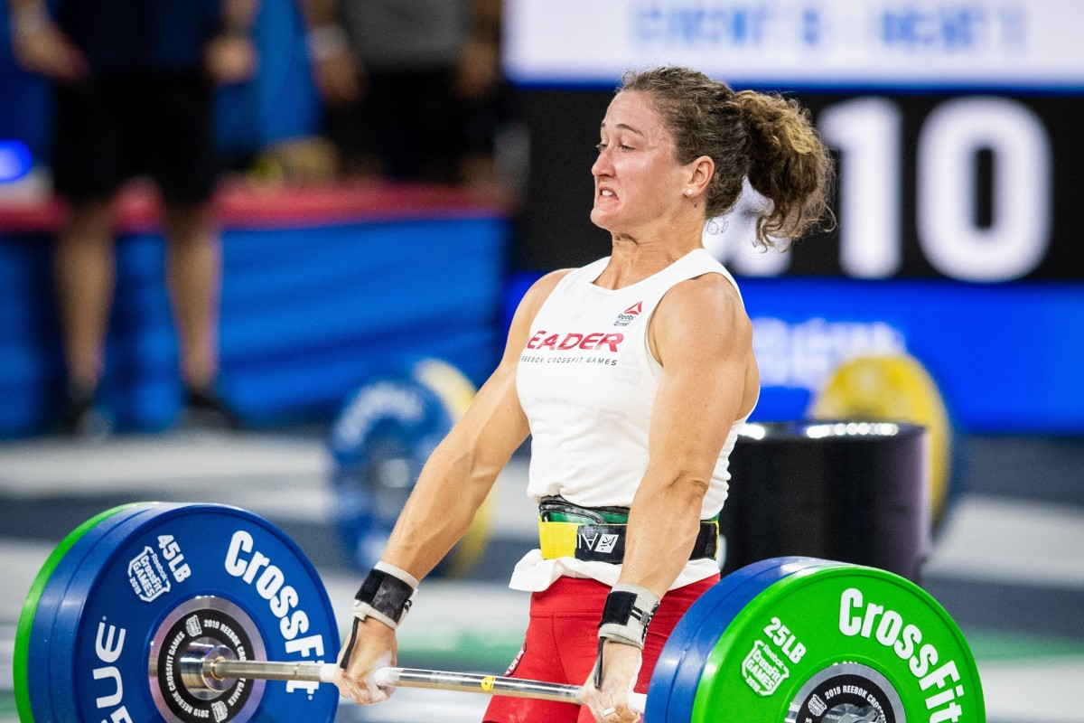 Tia-Clair Toomey is en route for yet another CrossFit Games title after finishing top of the online competition. Photo: Michael Valentin