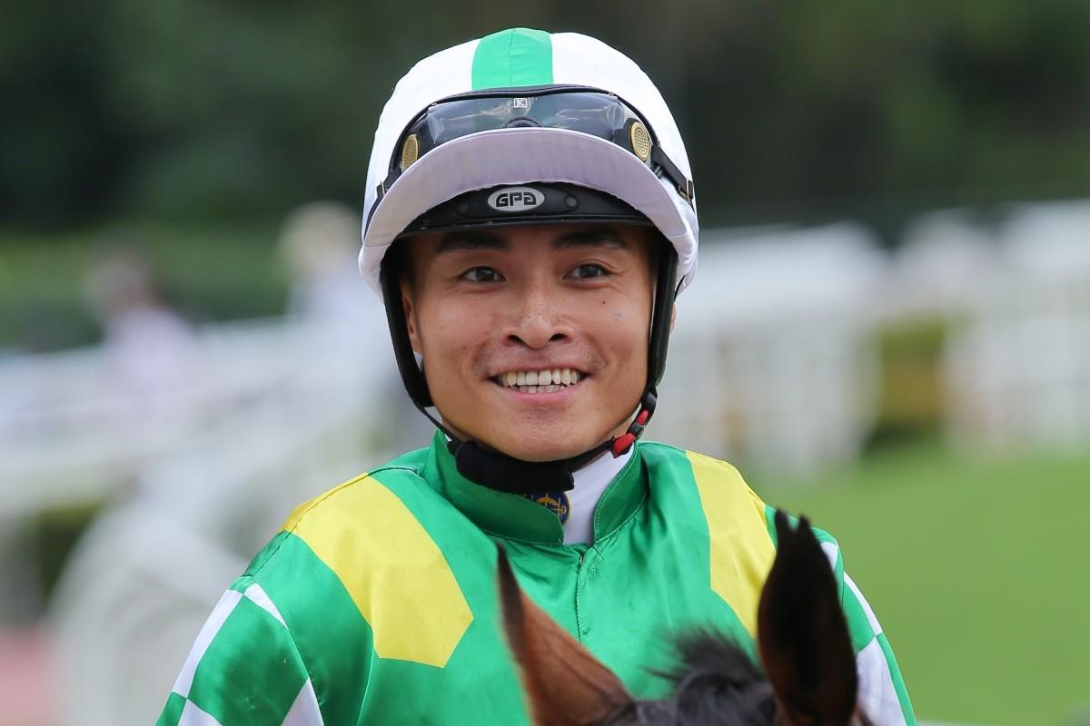Keith Yeung celebrates a winner earlier this season. Photos: Kenneth Chan