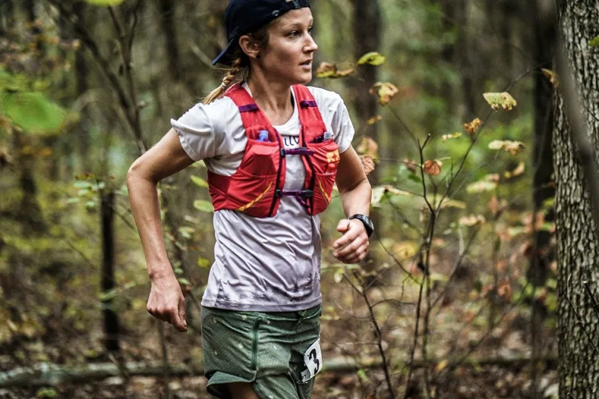 Maggie Guterl, winner of the 2019 Big Dog's Backyard Ultra, wants to run for 100 hours and break the record by 32 hours. Photo: iRunFar