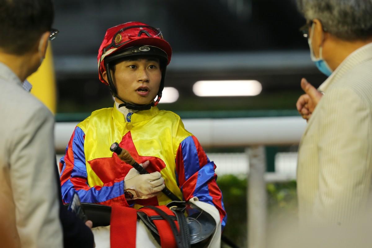 Jockey Dylan Mo. Photos: Kenneth Chan
