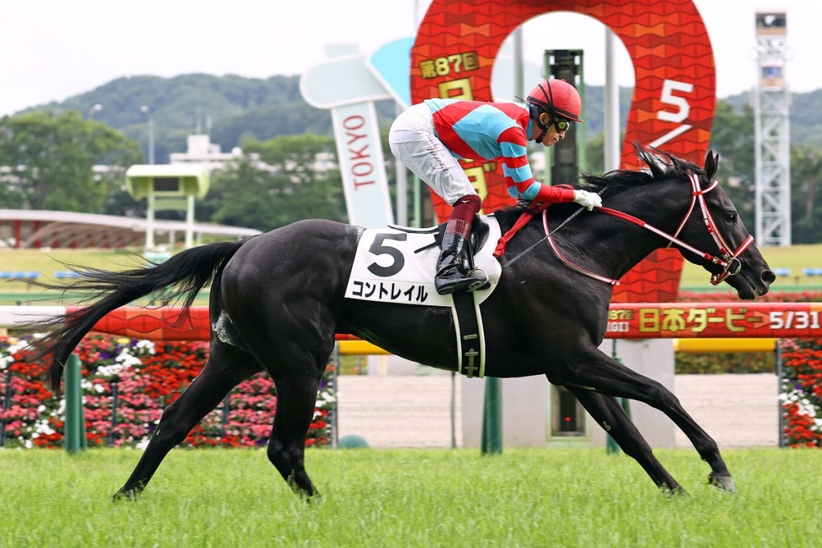 Contrail wins the 2020 Tokyo Yushun (Japanese Derby). Photo: Japan Racing Association