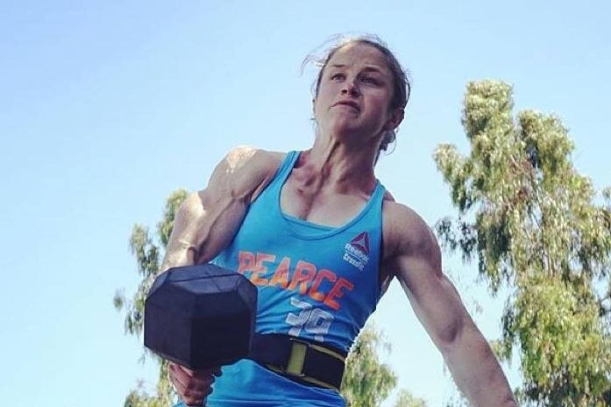 Kari Pearce is one of five women in the CrossFit Games final. Photo: Facebook
