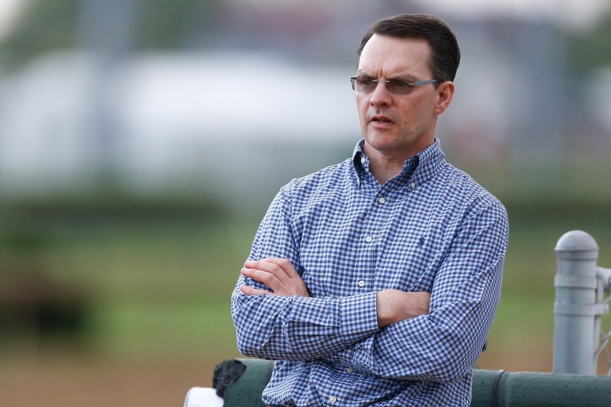 Trainer Aidan O'Brien. Photo: AFP
