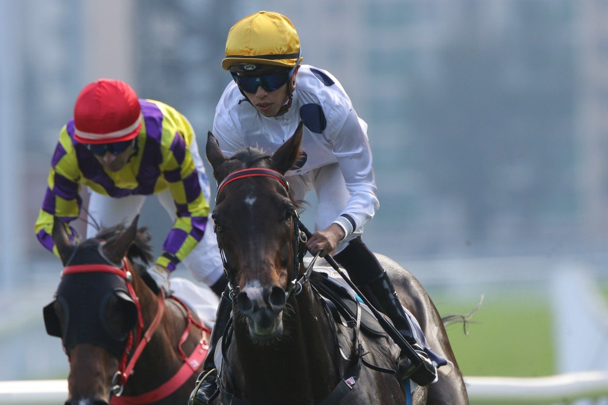 Golden Sixty chases his first Group One win in the Hong Kong Mile. Photos: Kenneth Chan