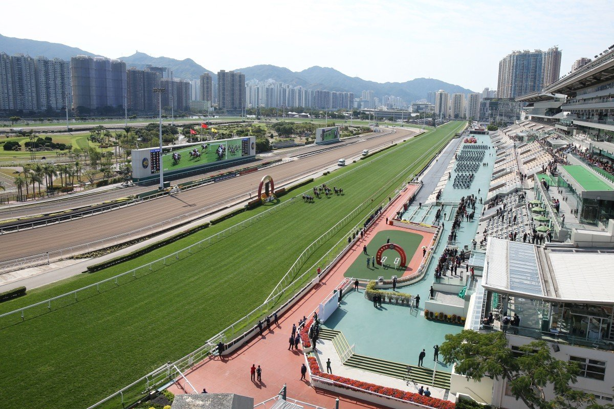 Horses race at Sha Tin in front of empty stands for the Lunar New Year meeting on January 27, 2020. Photos: Kenneth Chan