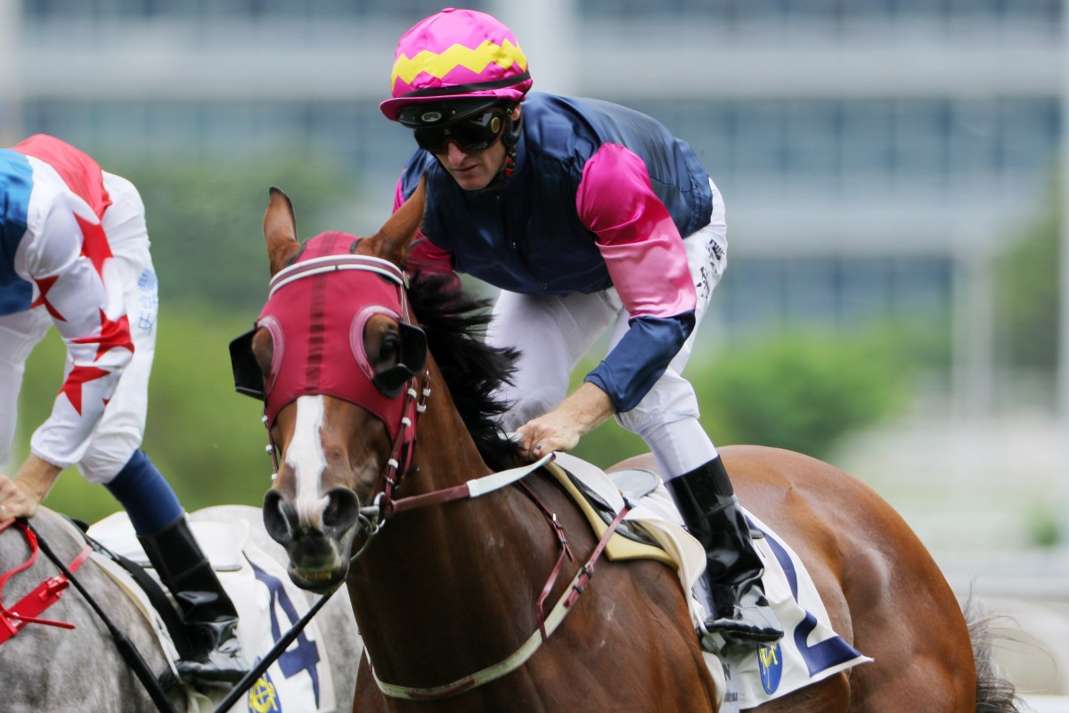 Thanks Forever wins at Sha Tin in May last year. Photos: Kenneth Chan
