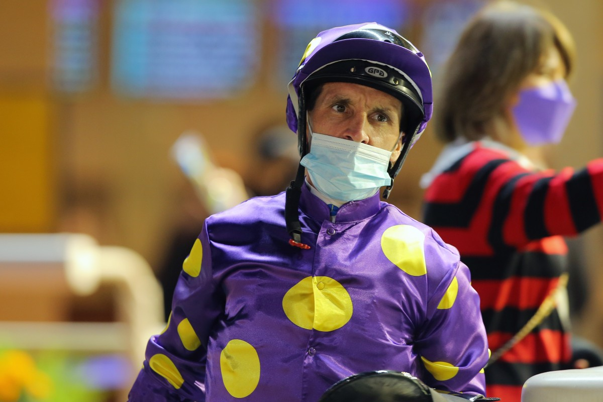 Jockey Neil Callan. Photos: Kenneth Chan
