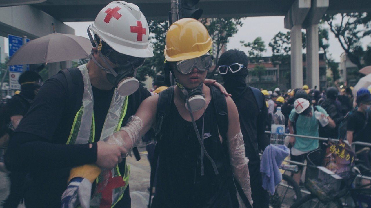 On the front lines with Hong Kong's first-aid squads - Inkstone