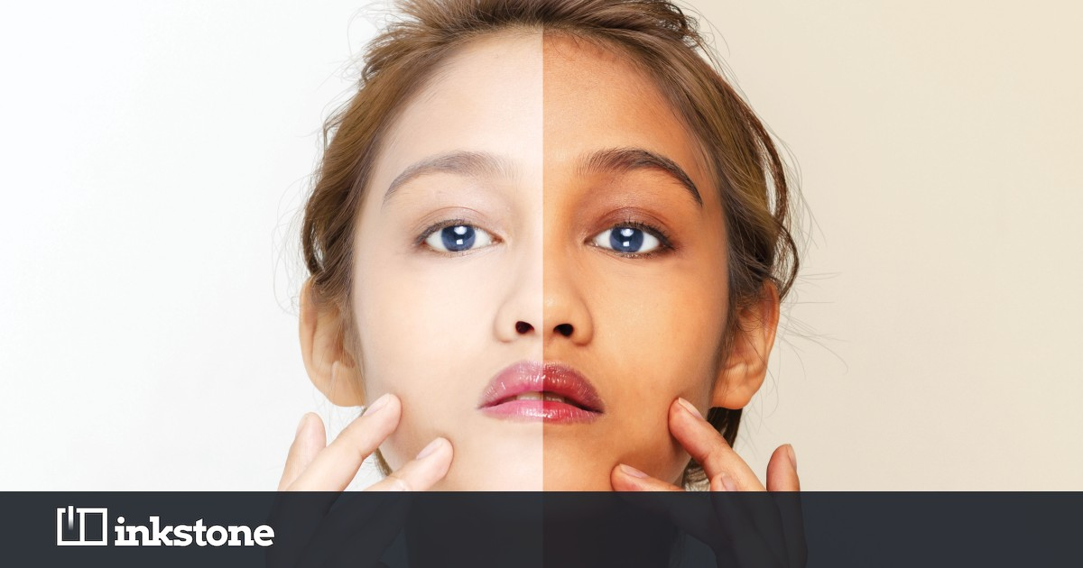 Asia is obsessed with skin whitening – but the backlash is