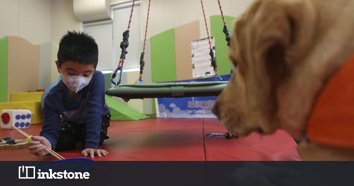 Man's best friend is helping kids with special needs