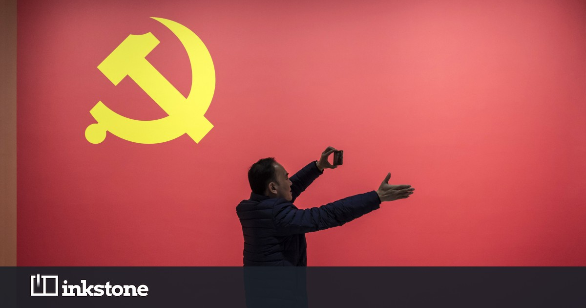 Communist party official fired after slapping staff in public