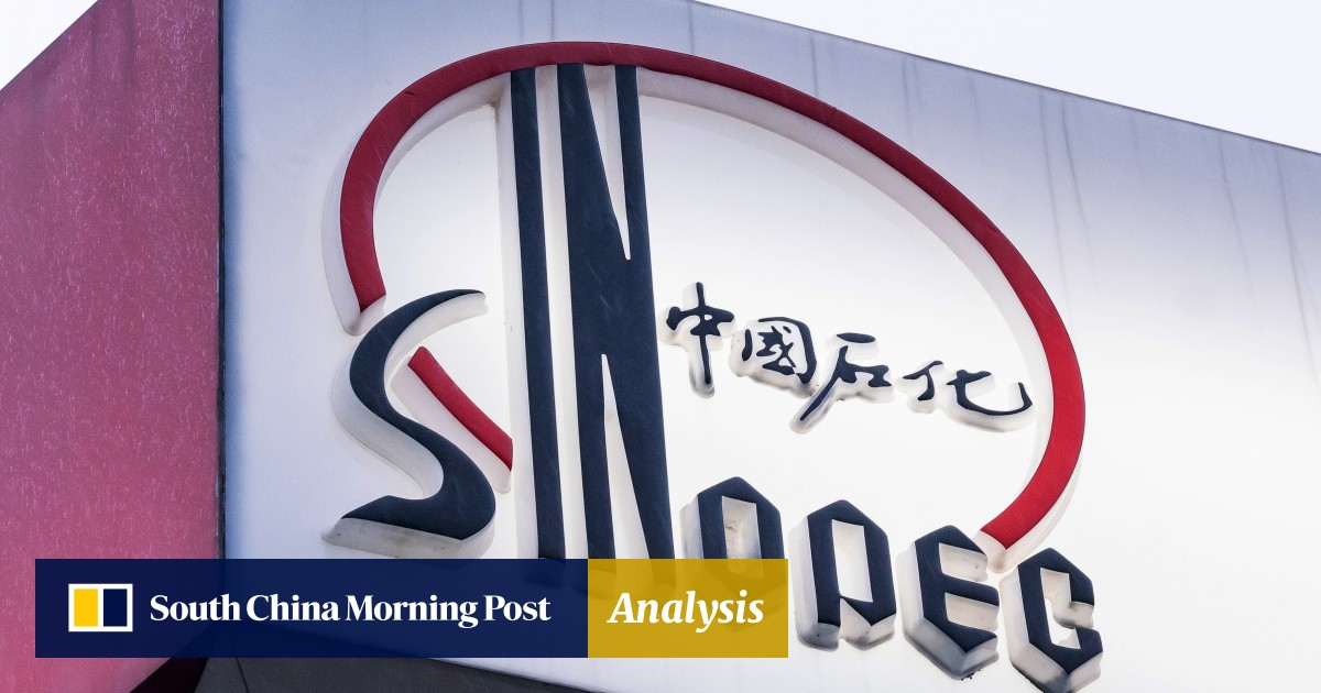 Chinese energy giant Sinopec defends 41 per cent increase in oil and