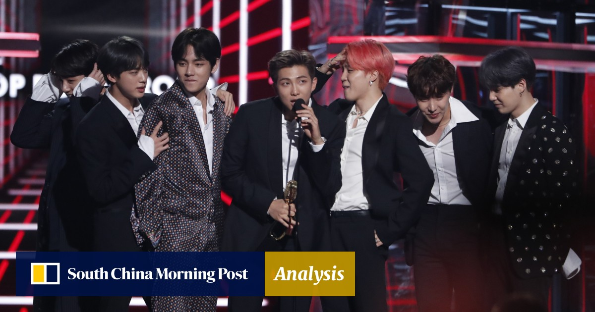 340d42f347 Billboard Music Awards: K-pop band BTS wins top group award to beat ...